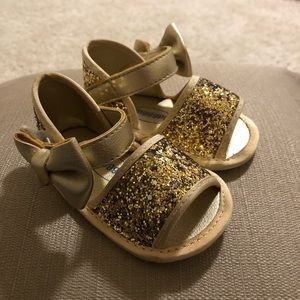 Other - Gold Baby Girl Sandals